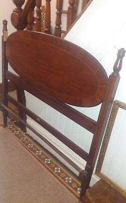 Antique Stunning Mahogany Double Bed Frame * Ystalyfera South Wales