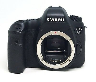 Canon EOS 6D 20.2MP DSLR Camera Black Body Only Assembly !!!AS IS FOR PARTS!!!