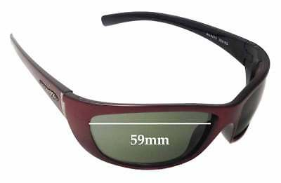 SFX Replacement Sunglass Lenses fits Arnette Mystique AN4117 59mm Wide