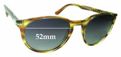 SFx Replacement Sunglass Lenses fits Persol 3152-S - 52mm Wide
