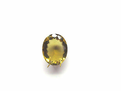 Champagner Quarz facettiert 18,8x15,3 mm 14.5 ct. U18232