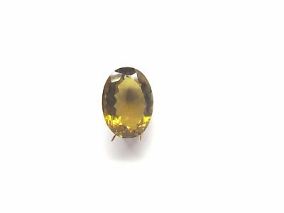 Champagner Quarz facettiert 18,3x13,2 mm 12 ct. U18233