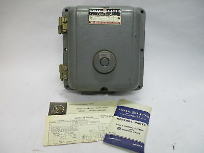 GE Control CR106B9 Magnetic Starter w/ Enclosure CR106 NEMA Size 0