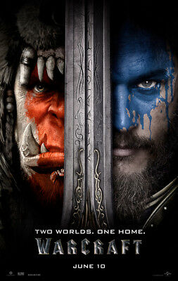 Warcraft - original DS movie poster - 27x40 D/S - RARE