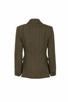 "Caldene Ss18 Tex Competitionjacket Southwold Tweed Brown - Maids 30"" - Cal3618"