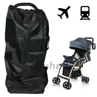 1X Gate Check Pram Travel Bag Umbrella Buggy/Stroller/Pushchair Waterproof Cover