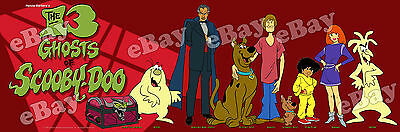 NEW EXTRA LARGE! THE 13 GHOSTS OF SCOOBY DOO Panoramic Photo Print HANNA BARBERA