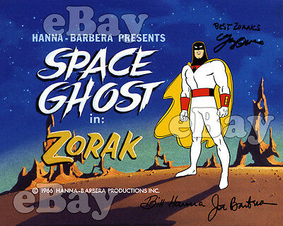 EXTRA LARGE! SPACE GHOST Poster Print HANNA BARBERA Episode Title Card