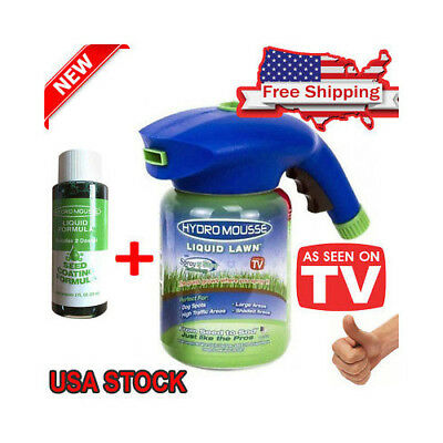 Hydro Mousse Gags Toy Liquid Lawn Sprayer As Seen on Tv Plastic System