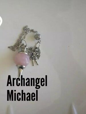 Code 293 quartz infused pendulum Your choice of 1 Piece, Shield, Sign or Michael