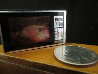 Dollhouse miniature Microwave oven
