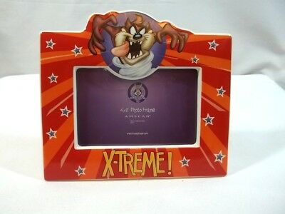 Ceramic Looney Tunes Taz Tazmanian Devil Picture Frame for 4 x 6 Extreme