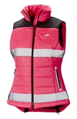 Harry Hall Hi-Viz Gilet Womens Pink - Size 16 - Hhl1884
