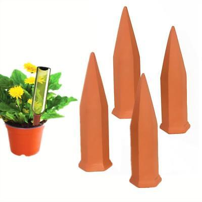 Self-Watering Spikes Probe Automatic Terracotta Plant Watering Stakes 4Pcs/set