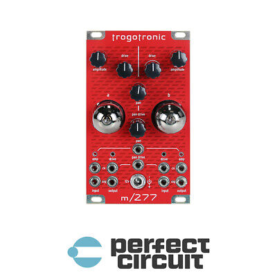 Trogotronic M277 Stereo Tube VCA Modular EURORACK - NEW - PERFECT CIRCUIT
