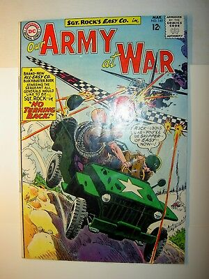 Our Army at War #140 GD/VG, 1964, DC comics, 3rd all Sgt. Rock, Kubert, BV=$28