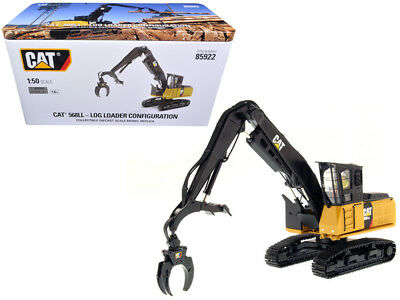 CAT Caterpillar 568 LL Log Loader with Operator High Line Series 1/50 Diecast Mo