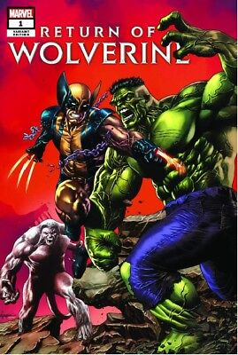 Return Of Wolverine #1 Variant Suayan Trade Presale! X-Men X-23 Hulk 181