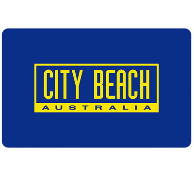 City Beach Gift Card $25, $50 or $100 - Email Delivery