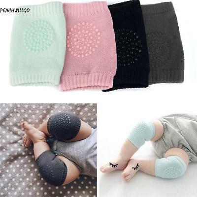 Kids Soft Anti-slip Elbow Cushion Crawling Knee Pad Infant Toddler Baby Safety