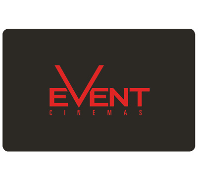 Event Cinemas Gift Card $20, $50 or $100 - Email Delivery