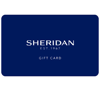Sheridan Gift Card $25, $50 or $100 - Email Delivery