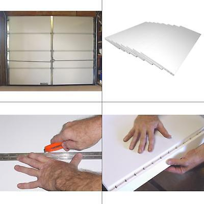 Garage Door Insulation Kit 8 Pieces Moisture Resistant Polystyrene