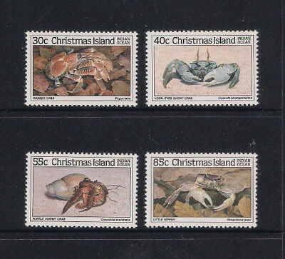 Christmas Island 1985 Crabs 1 Complete Set 4 - Muh Superb
