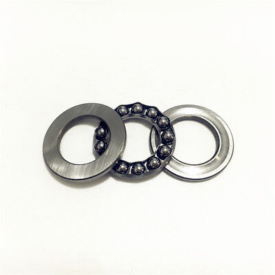 1-5pcs 51206 30x52x16mm Axial Ball Thrust Bearing 30mm x 52mm x 16mm 3-Parts