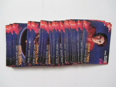 STAR TREK Deep Space Nine TRADING CARDS - Sky Box 1993 - Bulk Lot