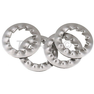 Internal Serrated Locking Washers A2 Stainless Steel DIN 6978 Shakeproof