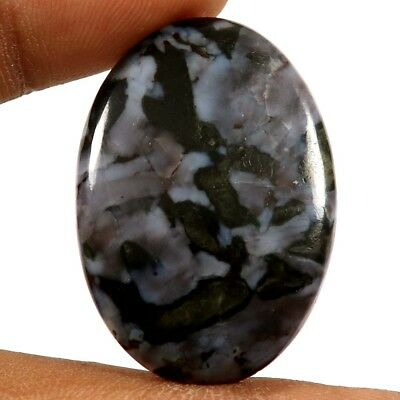 37.15 cts 100% Natural Top Quality Gabronite Jasper Gemstone Oval Loose Cabochon