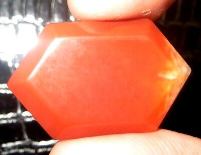 26Cts. AAA Natural Red Onyx Fancy Shape Cabochon Loose Gemstone 478