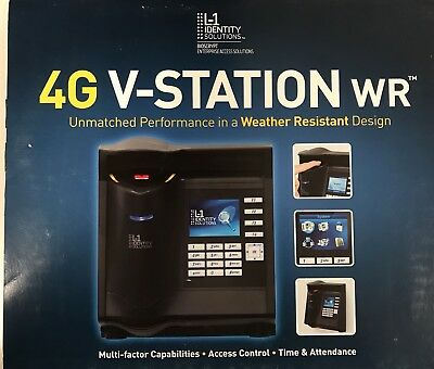 Bioscrypt 4G V-station Weather resistant Biometric Reader iClass (XSTSH)