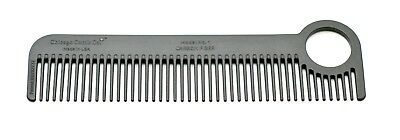 Chicago Comb Model 1 Carbon Fiber comb - made in USA, best daily use/pocket comb