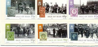 Isle of Man - Accession King George V- Stamps on stamps mnh (2010) Royalty