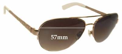 SFx Replacement Sunglass Lenses fits Kate Spade Marion/S - 57mm wide