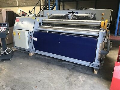 New UZMA 2050 X 220mm metal Bending Rollers Hydraulic 4 Roll