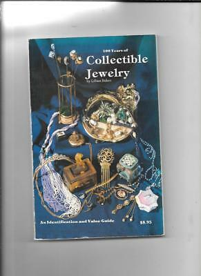 100 YEARS of COLLECTIBLE JEWELRY PRICE GUIDE  By LILLIAN BAKER