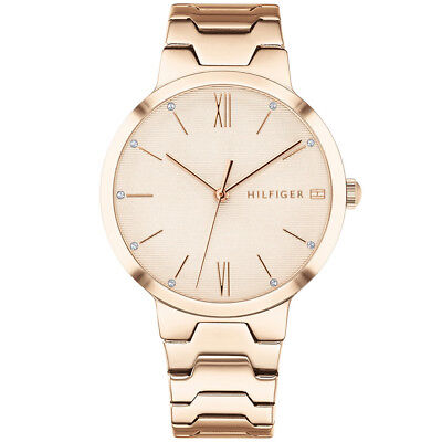 dfeea536140 TOMMY HILFIGER ANALOG business Rose Gold Ladies 1781799 -  101.80 .