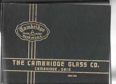 CAMBRIDGE GLASS CO 1930-1934 w PRICE GUIDE  1920s-1960s