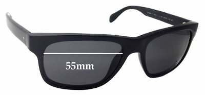 581dbbbce19 SFx Replacement Sunglass Lenses fits Oliver Peoples Becket OV5267-S - 55mm  wide
