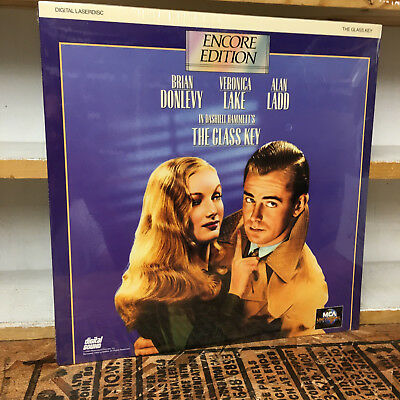 GLASS KEY laserdisc BRAND NEW!! SEALED! Brian Donlevy ENCORE EDITION