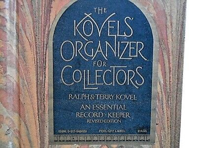 The Kovels Organizer for Collectors