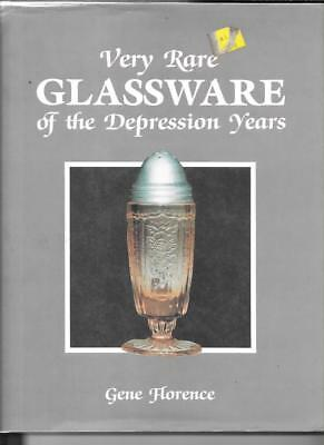 VERY RARE GLASSWARE of the DEPRESSION ERA by GENE FLORENCE