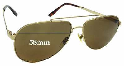 f78518c5d8 SFX REPLACEMENT SUNGLASS Lenses fits Gucci GG 3034 S - 58mm wide ...