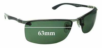8dc27f184f3 SFx Replacement Sunglass Lenses fits Ray Ban Tech RB8315 - 63mm Wide -  Professio