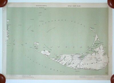 1891 ORIGINAL MAP of Nantucket Island, MA. Published by Geo ... on charles river map, suffolk county map, billingsgate island map, cape cod map, newport map, united states map, south carolina map, martha's vineyard map, hudson ma on map, hyannis map, maine map, block island map, long island map, hawaii map, massachusetts map, boston map, connecticut shore map, north carolina map, new england map, plymouth map,