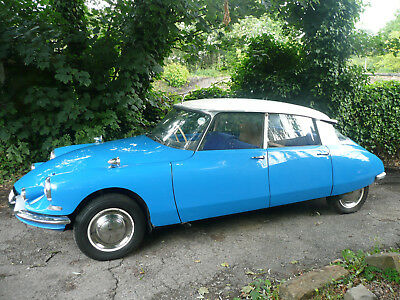 1960 Citroen Ds/id 1 Owner From New Right Hand Drive Very Low Mileage