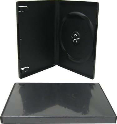 70 PREMIUM STANDARD Black Single DVD Cases 14MM SHIPS WITHIN 24 HOURS SHIPS FREE